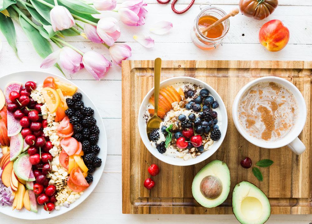 des aliments bons pour la peau